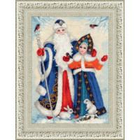Золотое руно СО-015 Дед Мороз и Снегурочка