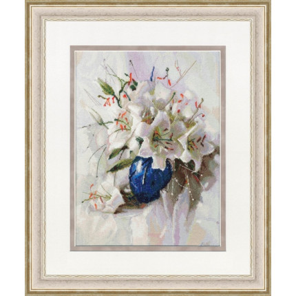 Набор для вышивания СЖ-056 Белые лилии