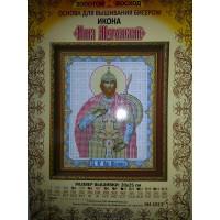 Золотой восход КИ-1013 Илия Муромский. Основа для вышивания бисером