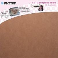 "Zutter 7615 Набор гофрированного картона ""Corrugated boards"""