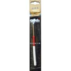 Крючок вязальный Addi с пластиковой ручкой 15см 3.5мм (арт. 148-7/3.5-15)