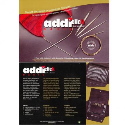 Addi Click Basic - система для комбинирования спиц (арт. 650-2/000)