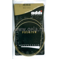 Addi 105-7/3-100 Спицы Addi круговые супергладкие 100см 3.0мм