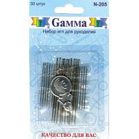 Гамма N-205 Иглы для рукоделия, 30 шт