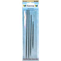 Гамма N-222 Иглы ручные для переплетных работ 4-7, 4 шт