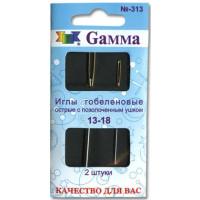 Gamma N-313 Иглы гобеленовые острые №13-18, 2 шт