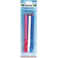"Gamma SS-016 Карандаши для кроя ""GAMMA"" SS-016 в блистере 3 шт"