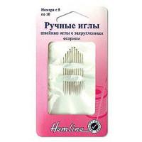 Hemline 206.510 Иглы ручные с закругленным острием N5-10 10 шт