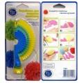Hemline T1981 Устройство для создания помпонов, пластик, 3 размера (4см, 5см, 8см)