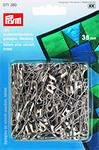Prym 071380 Английские булавки со спиралью, латунь № 2 серебристый цвет, изогнутые