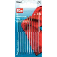 Prym 124661 Иглы для штопки длинные №1-5, 10 шт