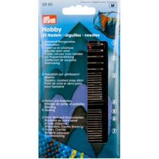 Иглы ручные ремесленные для хобби, 33 шт (арт. 128185)