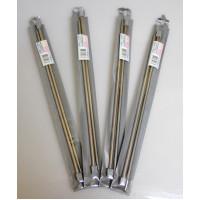 """Рукоделие RSM-205 Спицы """"Рукоделие"""" RSM-205 для вязания (прямые) металлические (2шт) 35 см *2,5 мм."""