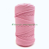 Прочие  Шнур полиэфирный 5 мм с сердечником 200 м №090 розовый