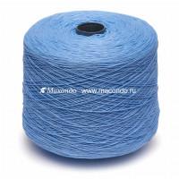 Пряжа для вязания Loro Piana Cotton&Silk 2201150 голубой Цвет 2201150 голубой