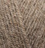 Пряжа для вязания Alize Alpaca Royal Цвет 688 кофе с молоком