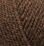 Пряжа для вязания Alize Alpaca Royal Цвет 201 коричневый