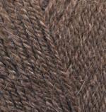 Пряжа для вязания Alize Alpaca Royal Цвет 687 коричневый