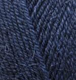 Пряжа для вязания Alize Alpaca Royal Цвет 58 темно синий