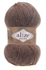 Пряжа для вязания Alize Alpaca Royal (Ализе Альпака Роял) Цвет 688 кофе с молоком