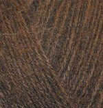 Alize Angora Gold Цвет 26 коричневый