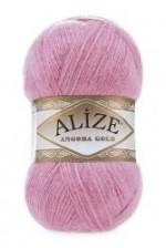 Пряжа Alize Angora Gold (Ализе Ангора Голд) Цвет 39 розовый