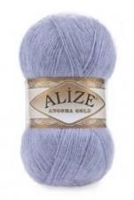 Пряжа Alize Angora Gold (Ализе Ангора Голд) Цвет 40 голубой