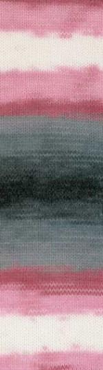 Пряжа для вязания Alize Angora Gold Batik (Ализе Ангора Голд Батик) Цвет 1602