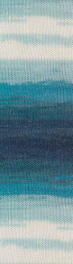 Пряжа для вязания Alize Angora Gold Batik (Ализе Ангора Голд Батик) Цвет 1892