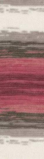 Пряжа для вязания Alize Angora Gold Batik (Ализе Ангора Голд Батик) Цвет 1984