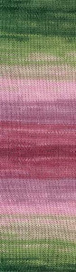 Пряжа для вязания Alize Angora Gold Batik (Ализе Ангора Голд Батик) Цвет 2527