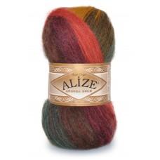Пряжа для вязания Alize Angora Gold Batik (Ализе Ангора Голд Батик)