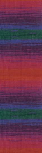 Пряжа для вязания Alize Angora Gold Batik (Ализе Ангора Голд Батик) Цвет 4343