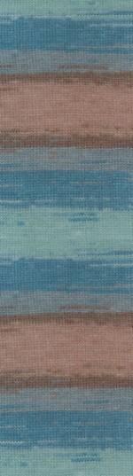 Пряжа для вязания Alize Angora Gold Batik (Ализе Ангора Голд Батик) Цвет 4337