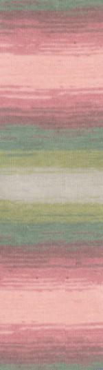 Пряжа для вязания Alize Angora Gold Batik (Ализе Ангора Голд Батик) Цвет 4686