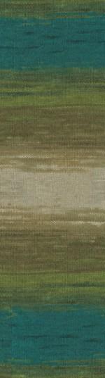 Пряжа для вязания Alize Angora Gold Batik (Ализе Ангора Голд Батик) Цвет 4684