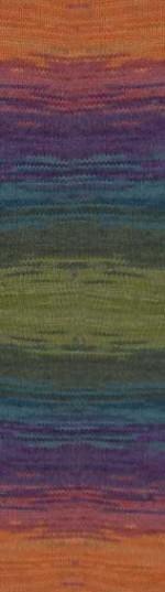 Пряжа для вязания Alize Angora Gold Batik (Ализе Ангора Голд Батик) Цвет 4827