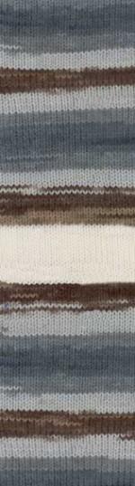 Пряжа для вязания Alize Angora Gold Batik (Ализе Ангора Голд Батик) Цвет 5742