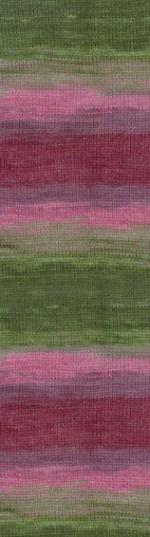 Пряжа для вязания Alize Angora Gold Batik Simli (Ализе Ангора Голд Батик Симли) Цвет 2527