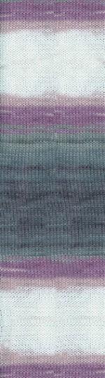 Пряжа для вязания Alize Angora Gold Batik Simli Цвет 1986