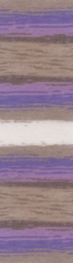 Пряжа для вязания Alize Angora Gold Batik Simli Цвет 4338