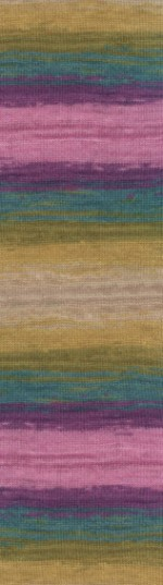 Пряжа для вязания Alize Angora Gold Batik Simli (Ализе Ангора Голд Батик Симли) Цвет 4341