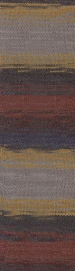 Пряжа для вязания Alize Angora Gold Batik Simli Цвет 3379