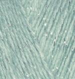 Пряжа для вязания Alize Angora Gold Simli (Ализе Ангора Голд Симли) Цвет 515 миндаль
