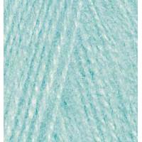 Пряжа для вязания Alize Angora Real 40 (Ализе Ангора Реал 40) Цвет 114 мята