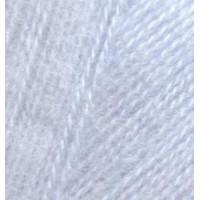 Пряжа для вязания Alize Angora Real 40 (Ализе Ангора Реал 40) Цвет 51 светло голубой
