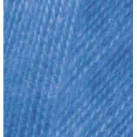 Пряжа для вязания Alize Angora Real 40 (Ализе Ангора Реал 40) Цвет 237 электрик