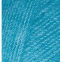 Пряжа для вязания Alize Angora Real 40 (Ализе Ангора Реал 40) Цвет 245 синяя бирюза