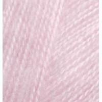 Пряжа для вязания Alize Angora Real 40 (Ализе Ангора Реал 40) Цвет 185 розовый