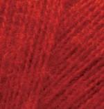 Alize Angora Real 40 Цвет 56 красный